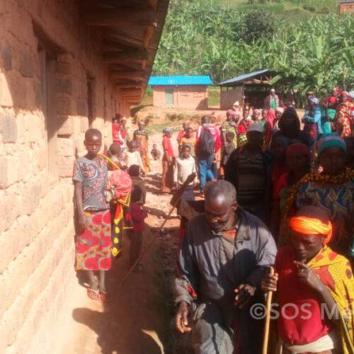Kibati (Cibitoke) : une quarantaine de familles ont fui les ménages suite aux pluies diluviennes