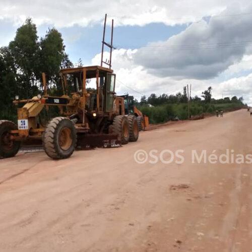 Des maisons détruites suite aux travaux de bitumage de la route Gitega-Kibumbu