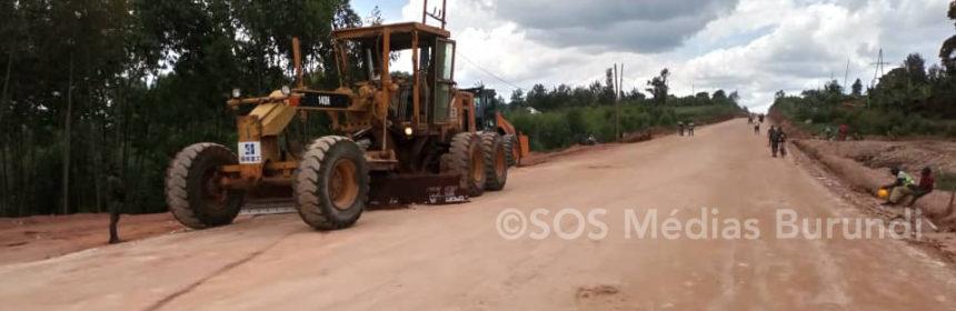 Plusieurs maisons ont été détruites, d'autres sont sous menaces à cause des travaux de réhabilitation de la route Kibumbu-Gitega
