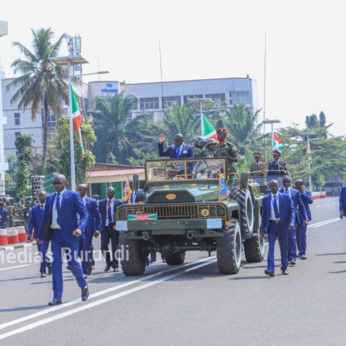 Les renseignements  militaires ont interpellé une douzaine d'agents de la garde présidentielle à Gitega