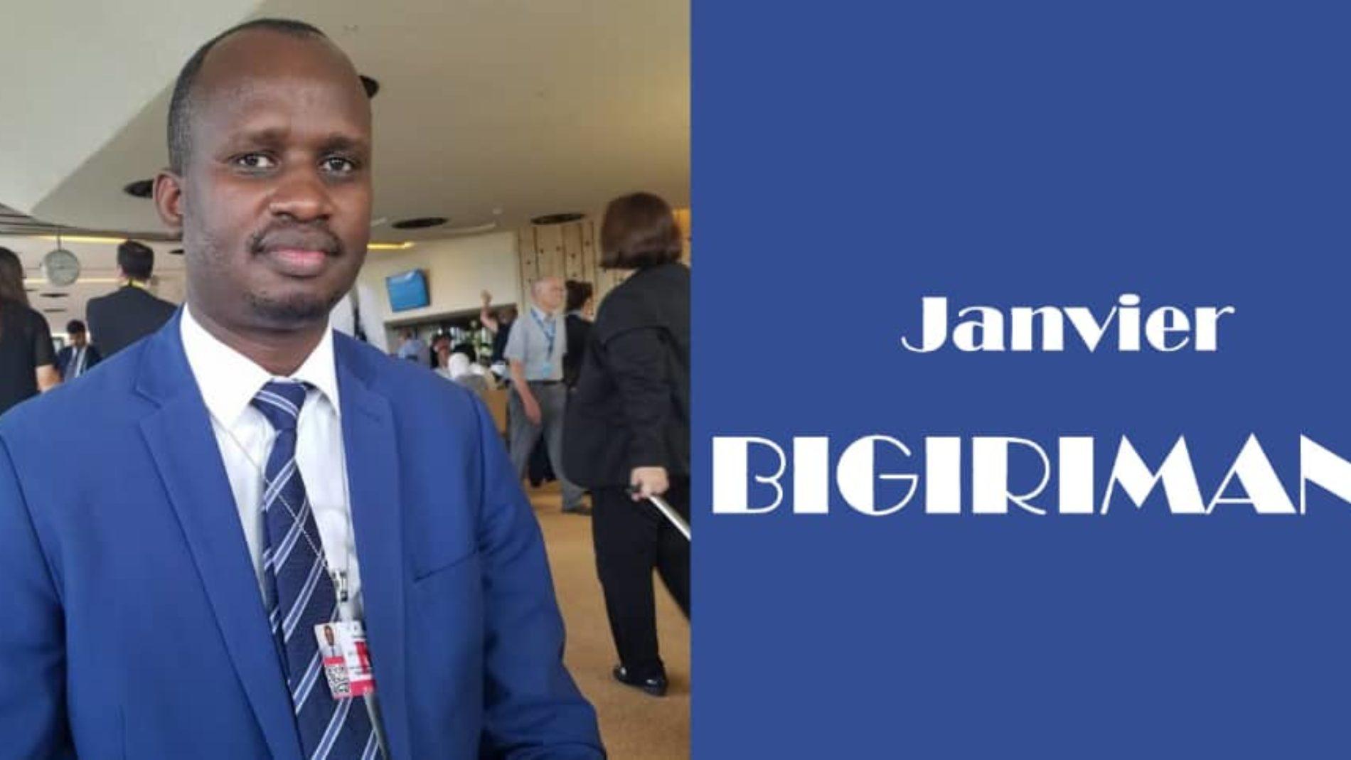 «les élections de 2020 nous réservent plusieurs surprises» (Me. Janvier Bigirimana)