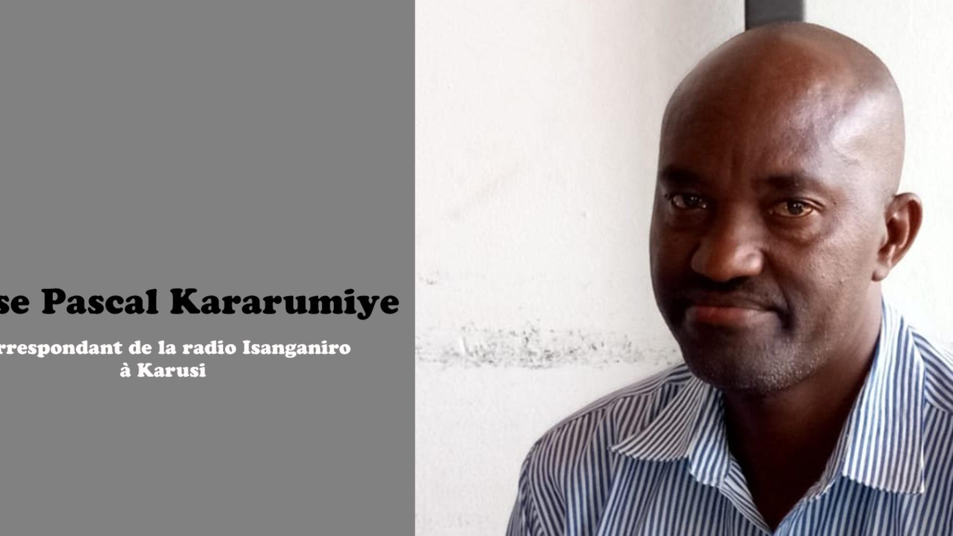 Arrestation d'un correspondant de la radio Isanganiro à Karusi