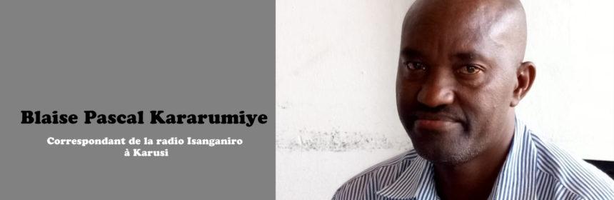Isanganiro, Pascal Kararumoiye, Sos Médias, Burundi