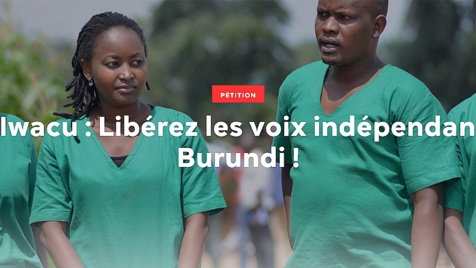 Journalistes Iwacu : Reporters sans Frontières (RSF) lance une pétition