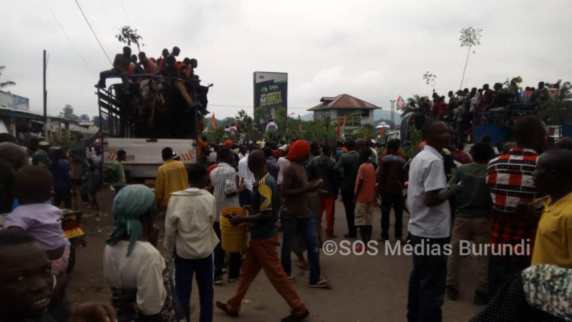 Accueil peu enthousiaste du candidat du CNDD-FDD à Bubanza