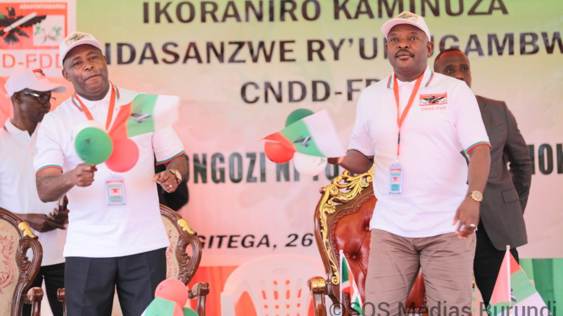 Le dauphin de Pierre Nkurunziza promet de lui être fidèle