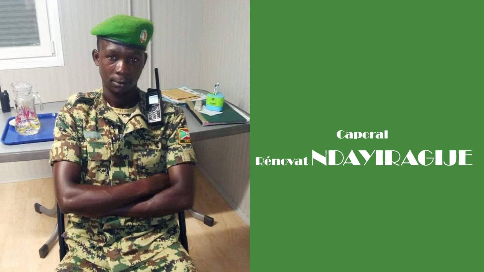 Un militaire affecté à   la garde du chef d'état-major introuvable
