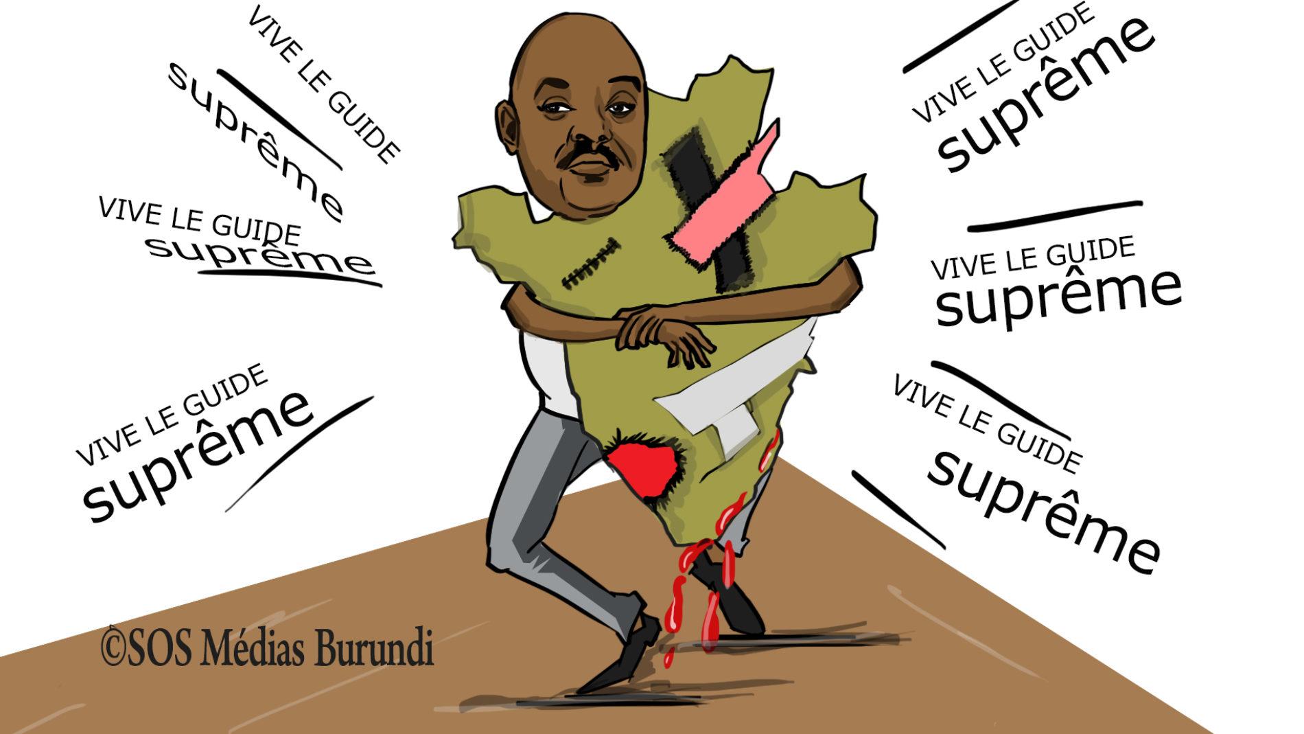 COUP DE CRAYON – Son Éminence Nkurunziza, Guide Suprême du patriotisme ?