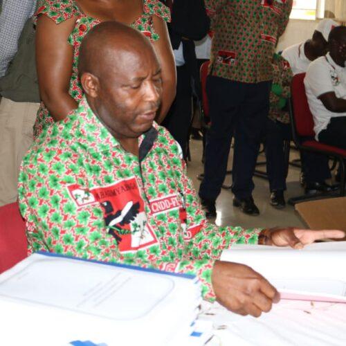 Le CNDD-FDD se dit satisfait de la baisse des cas d'intolérance politique à la veille des élections de mai 2020