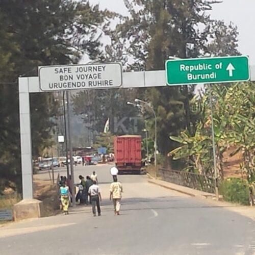 Le Burundi ferme ses frontières avec le Rwanda