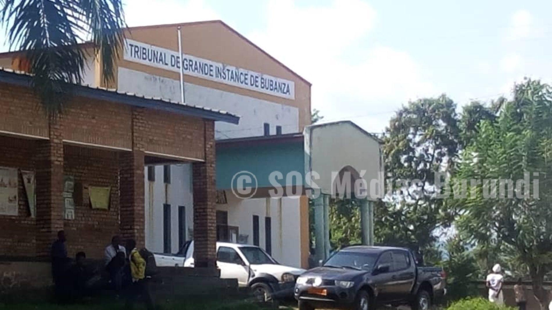 Bubanza: le tribunal de province a condamné à la prison à vie un policier qui a tué un propriétaire d'un bar