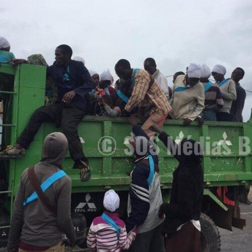 Plus de 1600 adeptes de la prophétesse Zebiya  Ngendakumana refoulés de la RDC