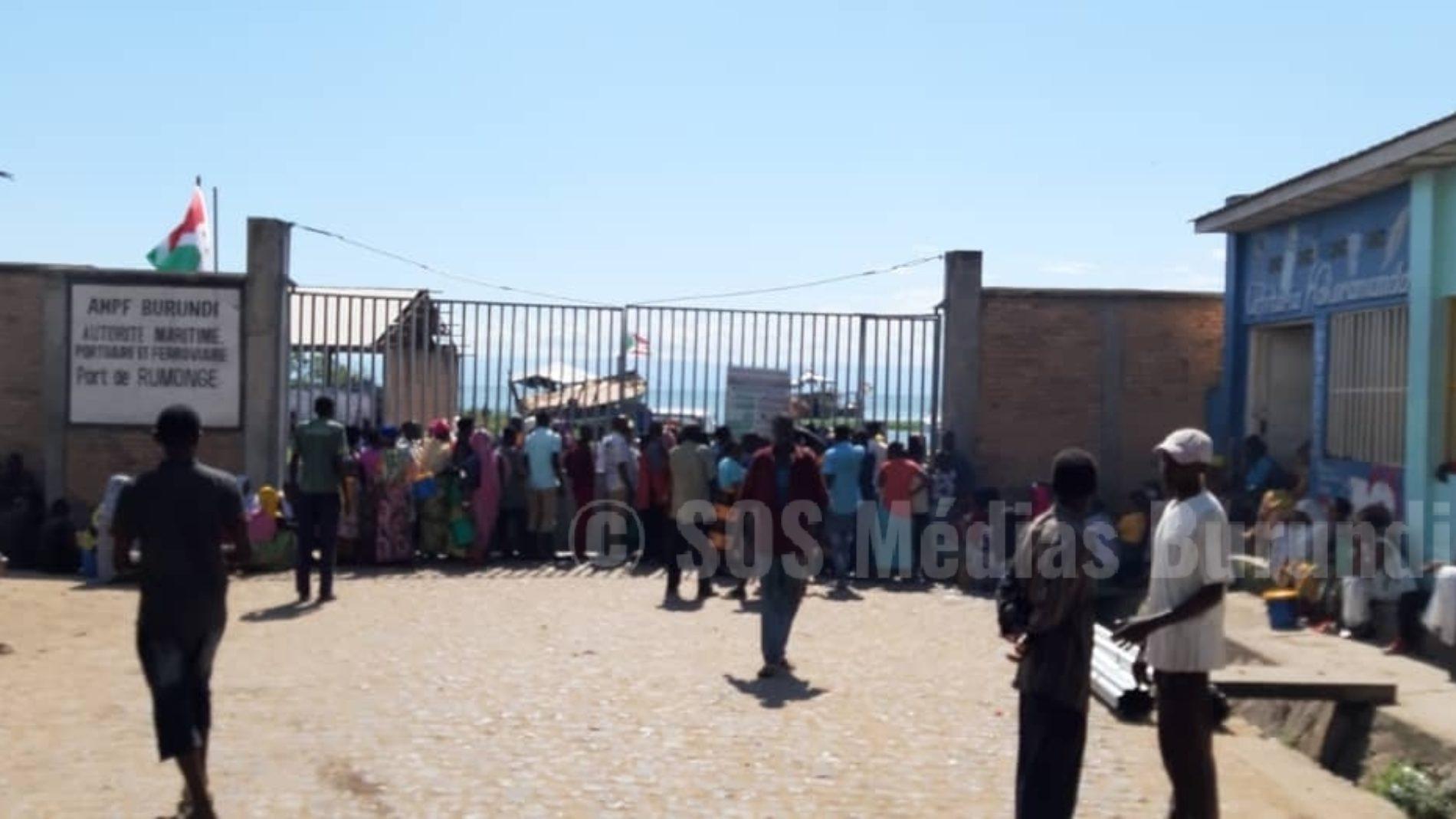 Rumonge : 146 Burundais en quarantaine