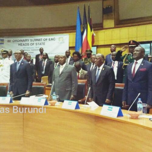 Le sommet des chefs d'Etat de l'EAC suspendu à cause du Coronavirus