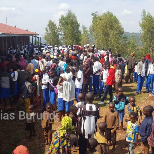 Le CNDD-FDD continue sa campagne dans des écoles