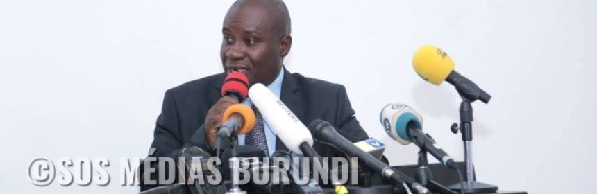 Prosper Ntahogwamiye, porte-parole du Gouvernement du Burundi