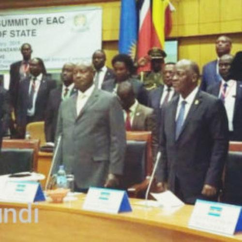 Covid-19: sommet extraordinaire des chefs d'Etat de l'EAC