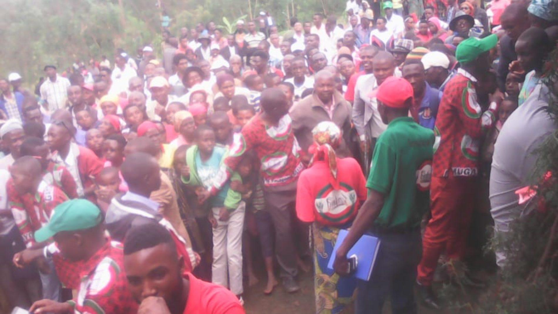 Bubanza : 55 militants du CNL en détention dont des élèves