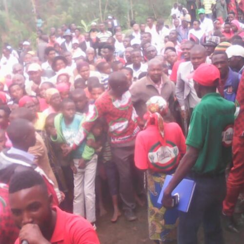 Giheta- Nyarusange: cinq militants du CNL interpellés