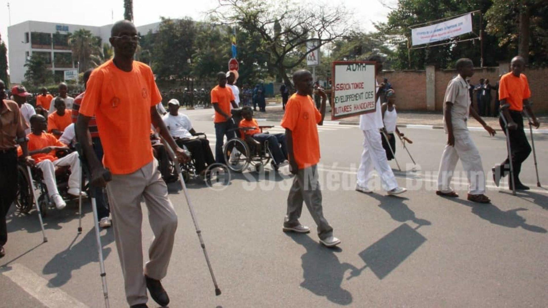 Grognes des anciens combattants handicapés à Kayanza