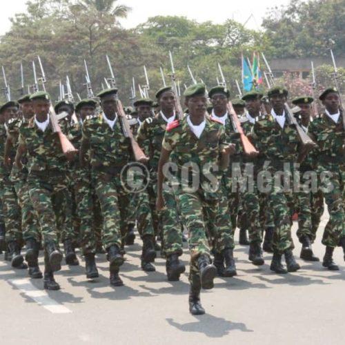 Des militaires burundais au Sud-Kivu