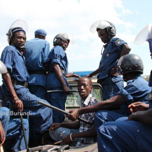 Plusieurs personnes arrêtées lors d'une fouille à Nyakabiga