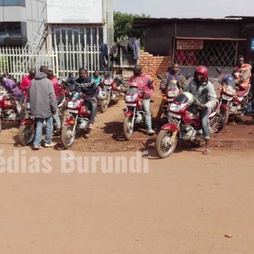 Makamba: les taxis motards contraints de participer à la campagne électorale du CNDD-FDD