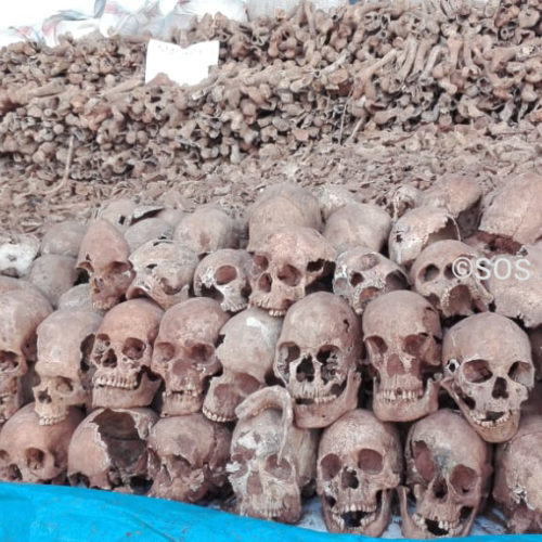 La CVR a exhumé plus de dix mille restes humains à Karusi et Gitega