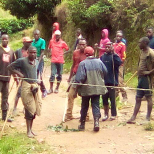 Kirundo : des barrières d'Imbonerakure inquiètent la population