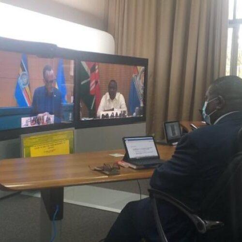 Covid-19 : des dirigeants de l'EAC adoptent une réponse commune