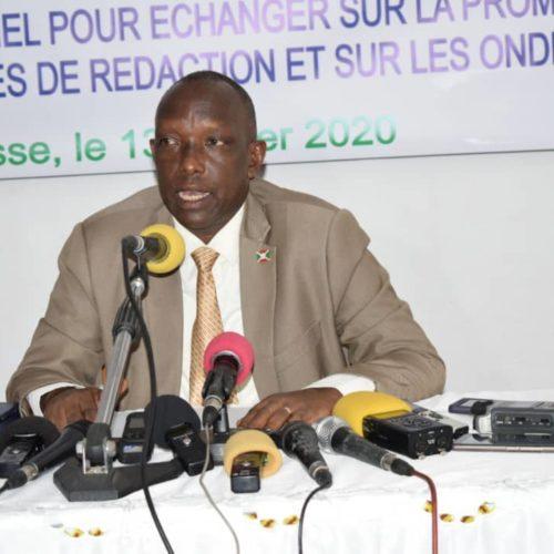 Burundi-Élections: le ministre de la communication exige la radiation de certains journalistes de la synergie des médias