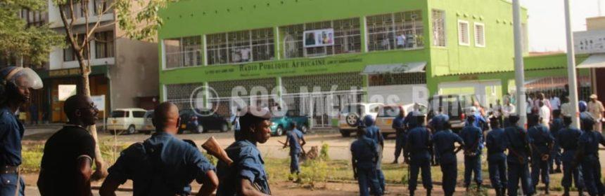 Burundi, pnb, rpa, journaliste, police, sos, medias