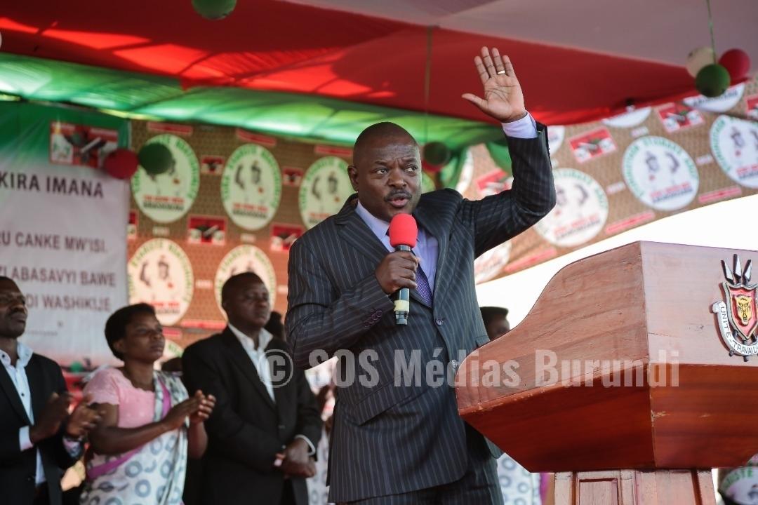 Burundi, nkurunziza, covid, sos medias, cndd, fdd