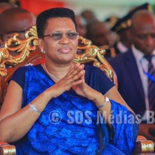 La Première dame du Burundi se dit guérie
