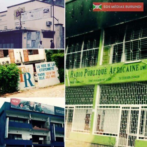 Photo de la semaine : destruction des médias à Bujumbura, 5 ans déjà.