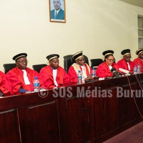 Mort de P. Nkurunziza : la Cour Constitutionnelle choisit la prestation de serment anticipée plutôt que l'intérim