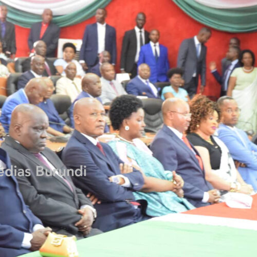Burundi: le premier ministre et le vice-président ont preté serment