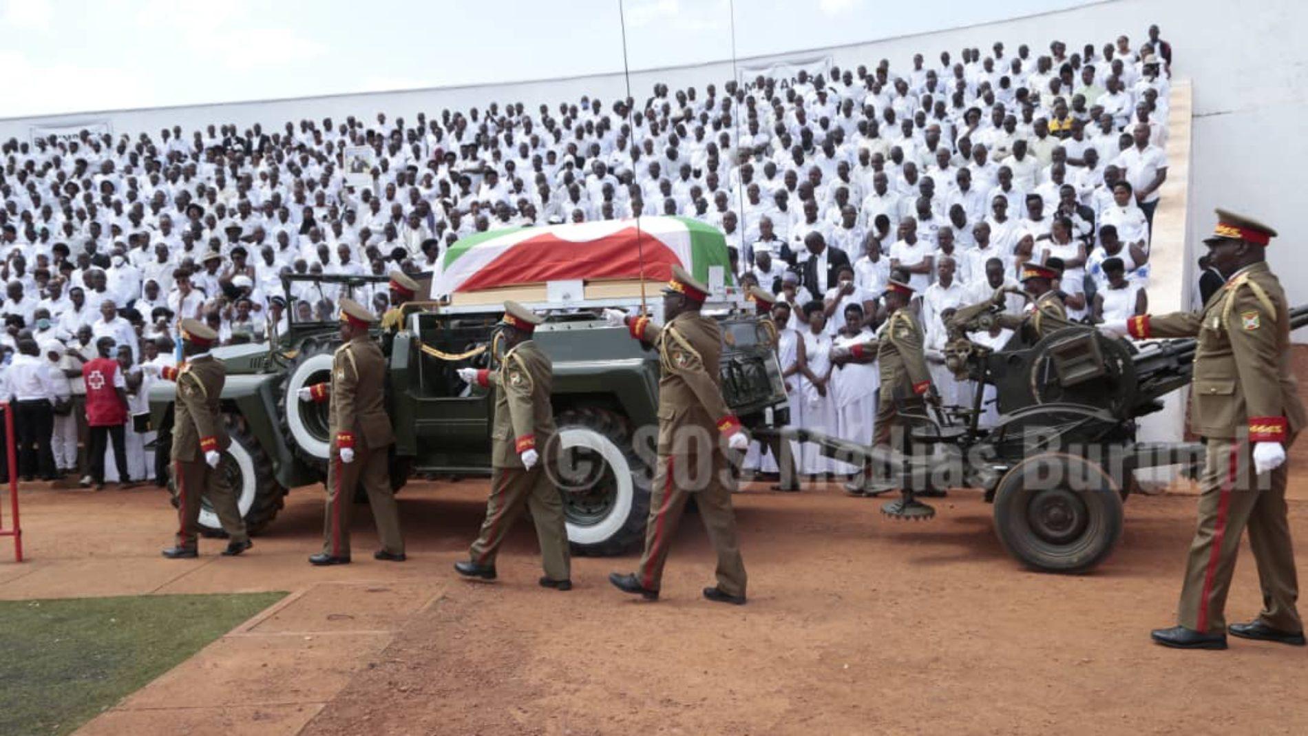 Photo de la semaine : le dernier hommage rendu à Nkurunziza
