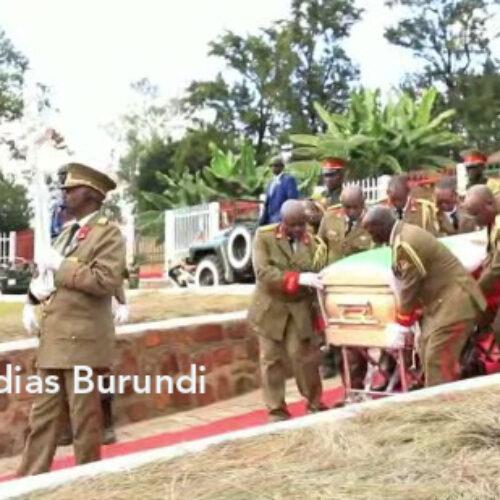 Nkurunziza a été enterré dans la capitale politique Gitega