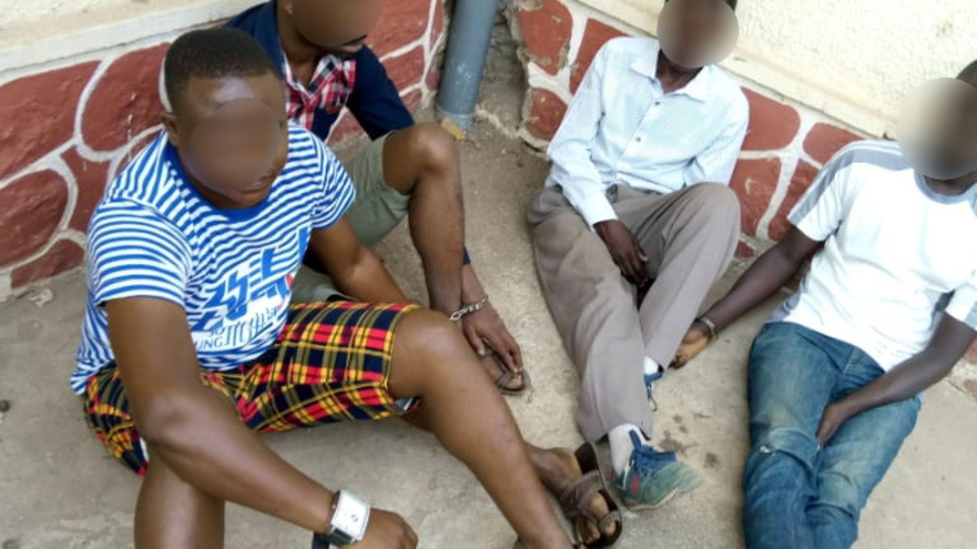 Bujumbura – sécurité : quatre individus dont deux militaires interpellés avec du chanvre