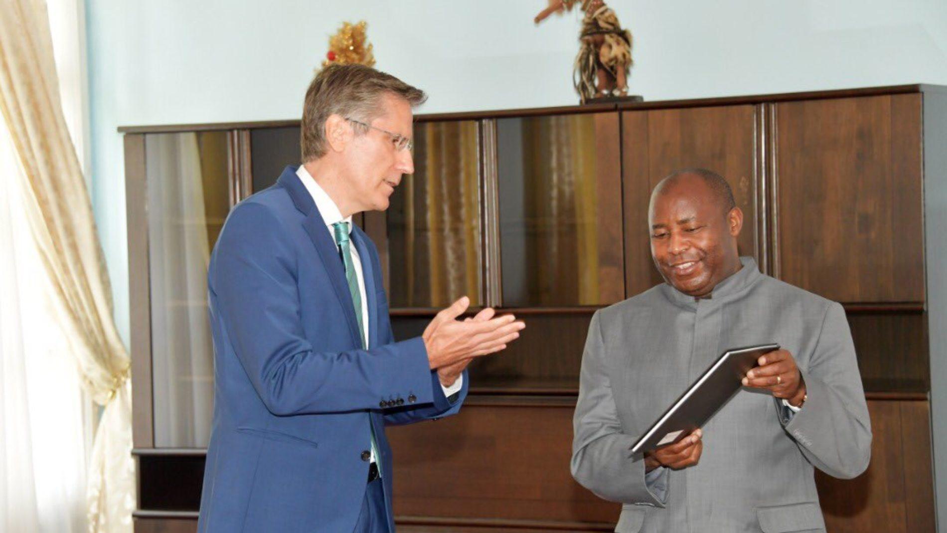 Burundi-Diplomatie: l'UE séduit le nouveau président
