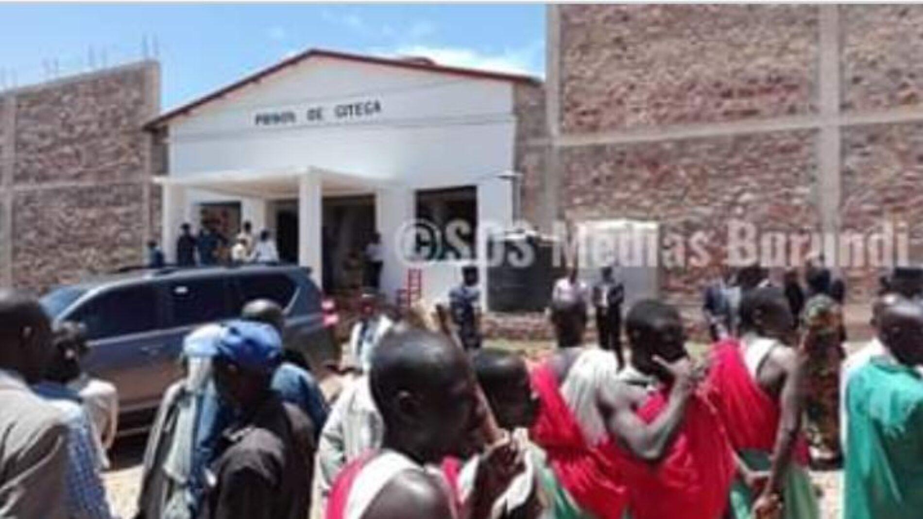 Gitega: cinq prisonniers dont deux supposés membres des FDRL transférés de Ruyigi à Gitega