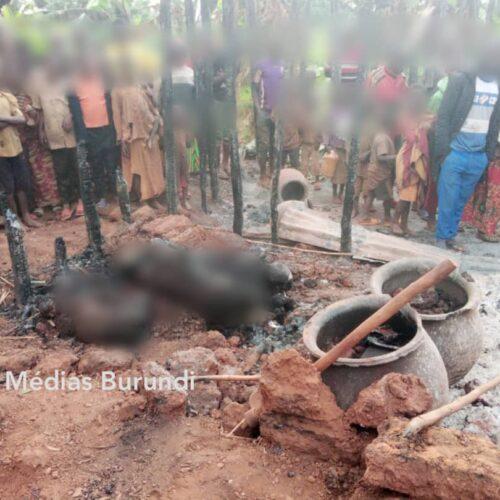 Muyinga-Bujumbura: huit personnes mortes dans un incendie