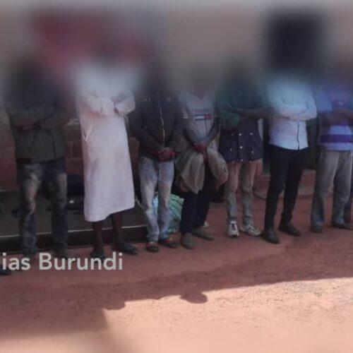 Gitega : la police dit avoir démantèle un groupe de bandits