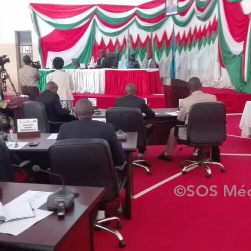 Élections2020: 1ère session de la nouvelle équipe de sénateurs