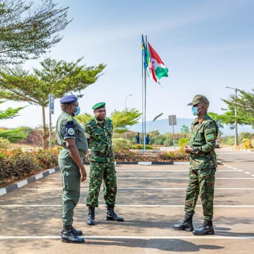 Burundi-Rwanda : deux délégations militaires en tête à tête pour résoudre l'insécurité sur les frontières communes