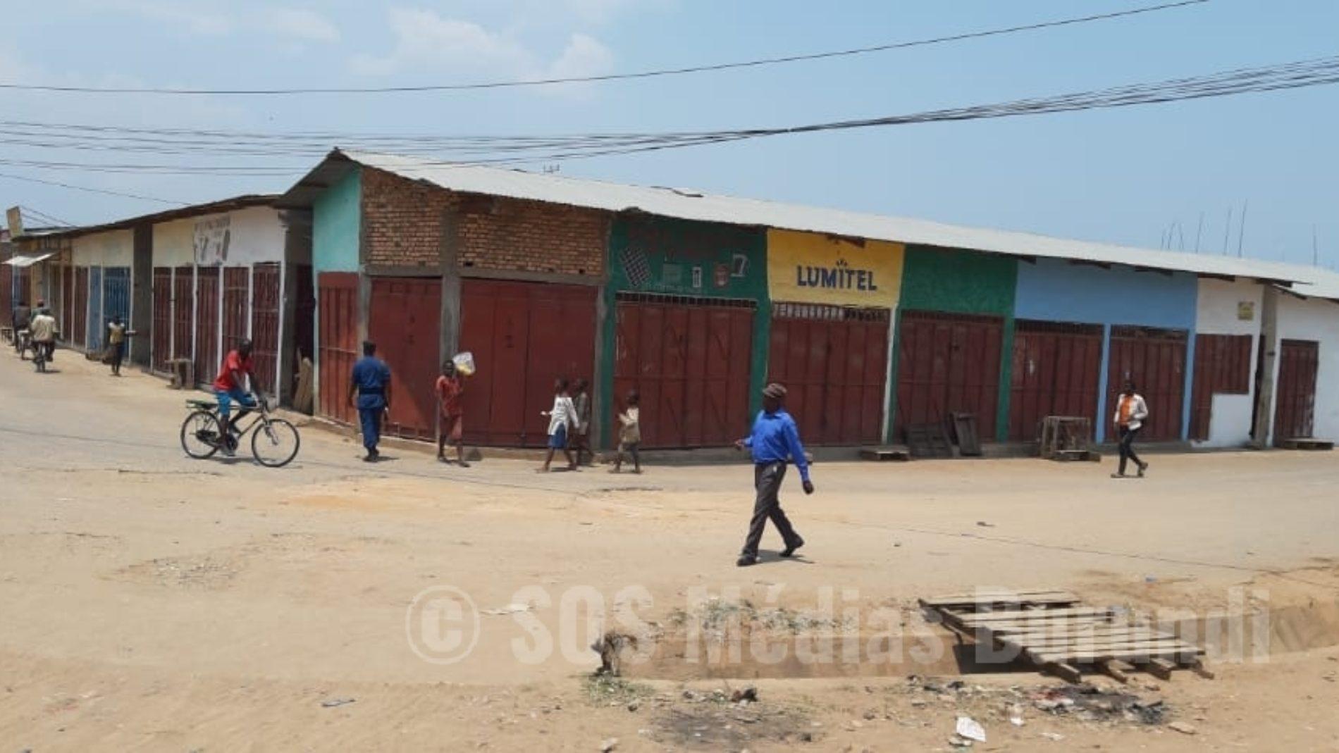 Rumonge: Évariste Ndayishimiye visite la province, les activités sont paralysées
