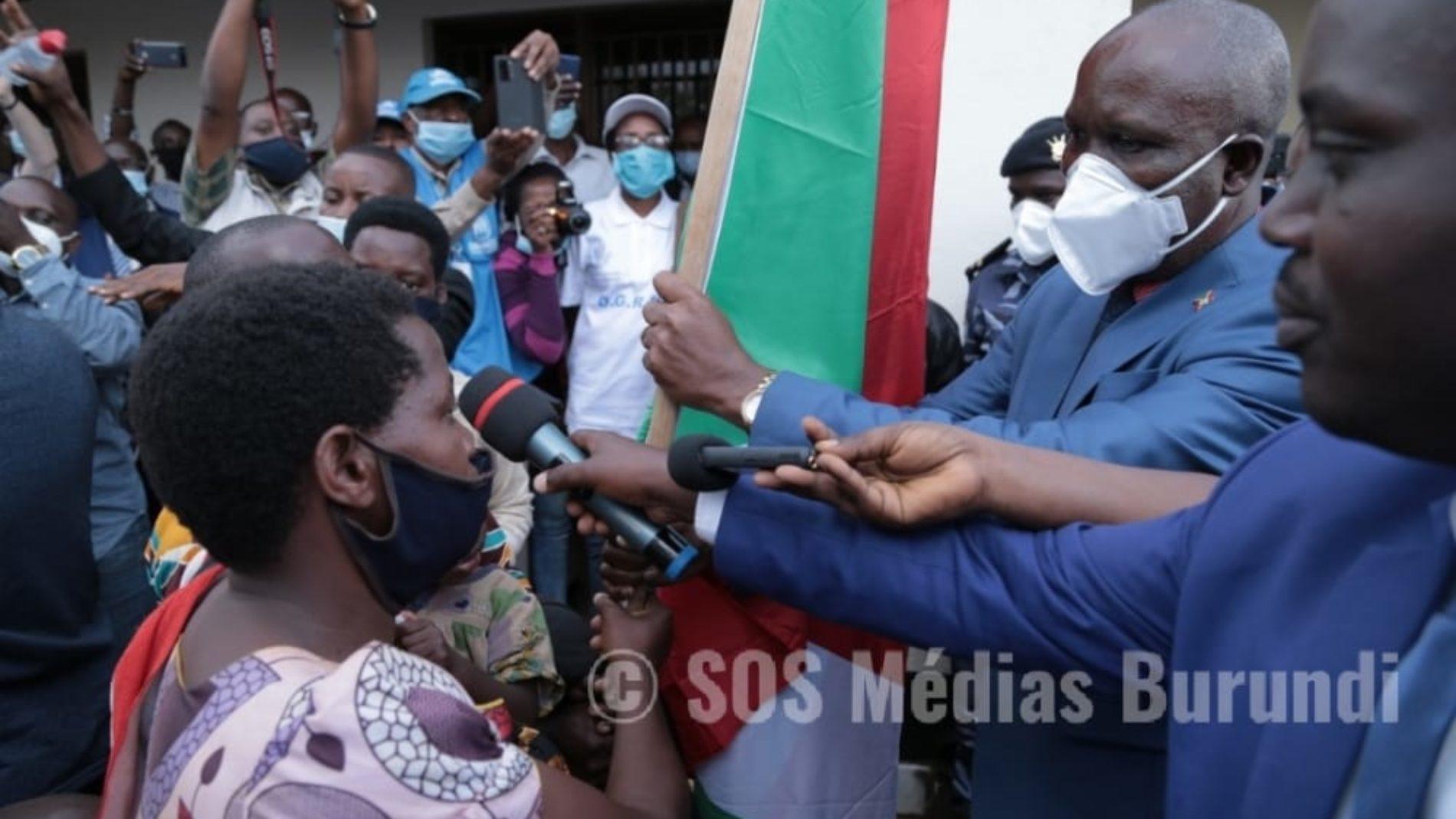 Photo de la semaine : le Burundi a accueilli un premier groupe de rapatriés en provenance du Rwanda