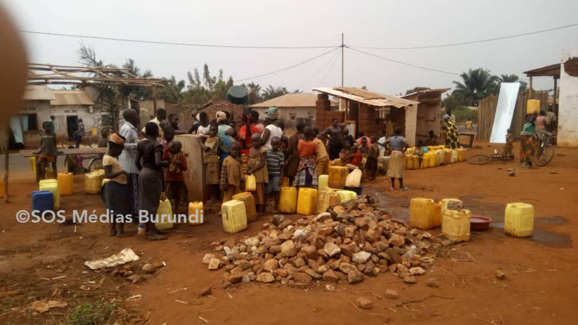 Bubanza- Mitakataka: manque d'eau potable