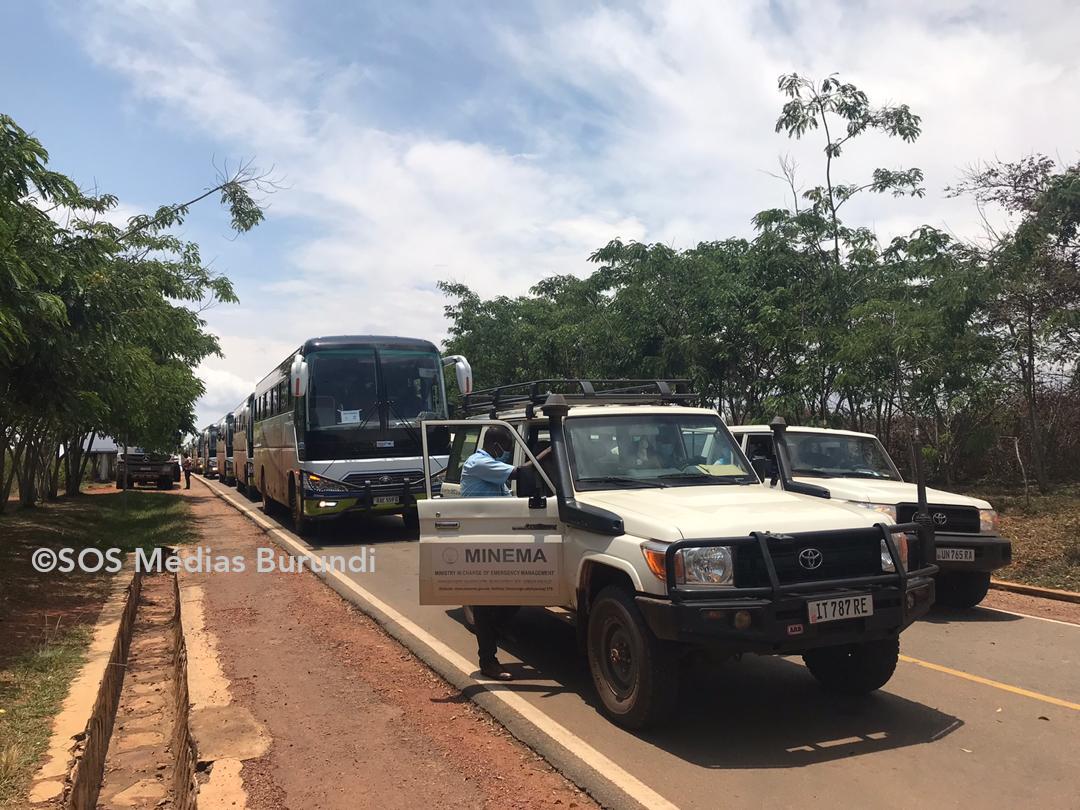 Rapatriement volontaire des réfugiés Burundais en provenance du Rwanda